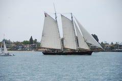 Grand bateau à voile Images libres de droits