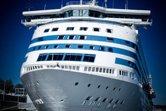 Grand bateau de croisière Photos libres de droits