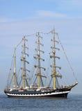 Grand bateau de navigation traditionnel 02 Photo stock