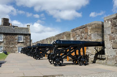 The Grand Battery at Stirling Castle, Scotland Royalty Free Stock Photography
