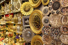 Grand Bazaar Islamic Souvenirs. Grand Bazaar Souvenirs in Istanbul Royalty Free Stock Images