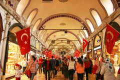 Grand Bazaar in Istanbul Royalty Free Stock Images