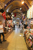 Grand Bazaar in Istanbul City, Turkey Stock Photography