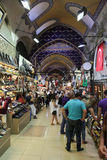 Grand Bazaar in Istanbul City, Turkey Royalty Free Stock Image