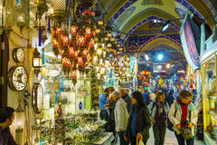 Grand Bazaar in Istanbul interior Royalty Free Stock Photo