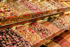 Grand bazaar istanbul  tea Royalty Free Stock Images