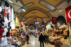 Grand bazaar in Istanbul Royalty Free Stock Photos