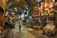 Grand Bazaar - Istanbul - Turkey Stock Images