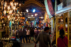 Grand Bazaar in Istanbul, Turkey Royalty Free Stock Photo