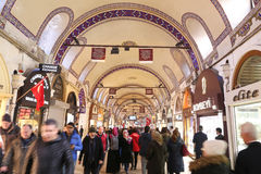 Grand Bazaar in Istanbul Royalty Free Stock Image