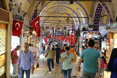 Grand Bazaar in Istanbul Stock Images