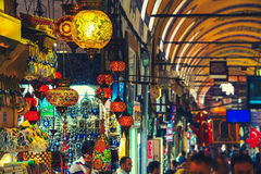 Grand Bazaar in Istanbul, Turkey Royalty Free Stock Photography