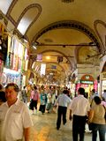 Grand Bazaar in Istanbul, Turkey Stock Image