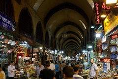 Grand Bazaar in Istanbul, Turkey Royalty Free Stock Photography