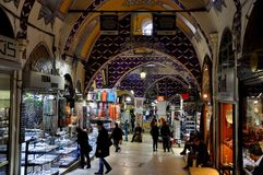 Grand Bazaar, Istanbul, Turkey Royalty Free Stock Image