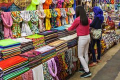 The Grand Bazaar. ISTANBUL, TURKEY - SEPTEMBER 08, 2014: The Grand Bazaar is one of the largest and oldest covered markets in the world on September 08, 2014 in royalty free stock photos