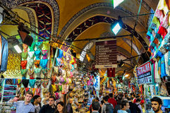 Grand Bazaar in Istanbul, Turkey stock photos