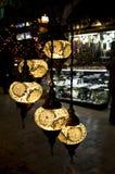 Grand Bazaar Istanbul - Turkish lantern souvenirs Royalty Free Stock Image
