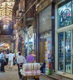 Grand Bazaar shopping street, Iran stock photos