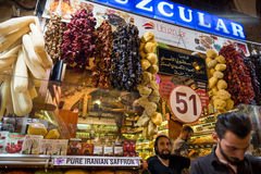 Grand bazaar shops in Istanbul Stock Photos