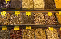 Grand bazaar tea shops in Istanbul royalty free stock photography