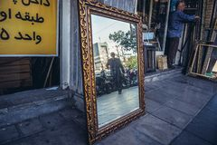 Grand Bazaar in Tehran royalty free stock images