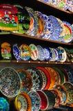 grand bazarów orientalni wzory Zdjęcia Stock