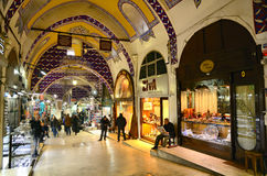 Grand Bazar in Istanbul Royalty Free Stock Image