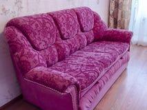 Grand beau pinksofa Photographie stock