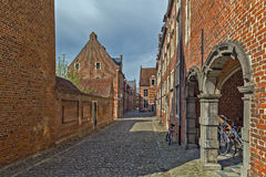 Grand Beguinage, Leuven, Belgium Stock Photo