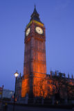 Grand Ben à Londres Photographie stock libre de droits