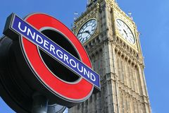 Grand Ben à Londres Image stock