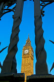 Grand Ben Bell Clock Tower, Londres R-U Photos stock