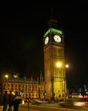 Grand ben dans la vue #2 de nuit de Londres Images stock