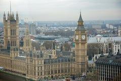 Grand Ben et Chambres du Parlement images stock