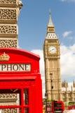 Grand Ben et téléphone image libre de droits