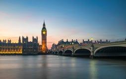 Grand Ben, Londres Photographie stock libre de droits