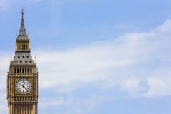 Grand Ben, Londres, Angleterre Image libre de droits