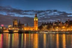 Grand Ben par nuit Photographie stock