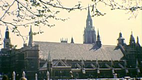 Grand Ben Parliament Square Garden London banque de vidéos