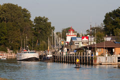 Free Grand Bend Harbour Royalty Free Stock Photos - 34195528