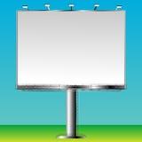 Grand billboard. Blank billboard sign ready for add Stock Photo
