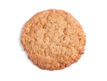 Grand biscuit de farine d'avoine images libres de droits