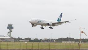 Grand Boeing 777-219 ER Image libre de droits