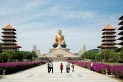 Grand Bouddha à Kaohsiung à Taïwan photos libres de droits