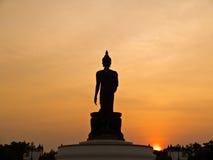 Grand Bouddha chez Phutthamonthon en Thaïlande photographie stock