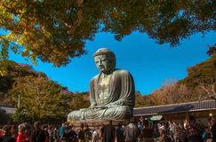 Grand Bouddha de Kamakura Photo stock