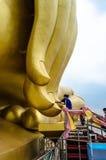 Grand Bouddha de la Thaïlande Photographie stock