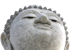 Grand Bouddha font face Photo libre de droits