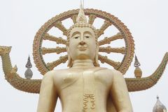 Grand Bouddha Ko Samui la Thaïlande en octobre 2017 5 photo stock